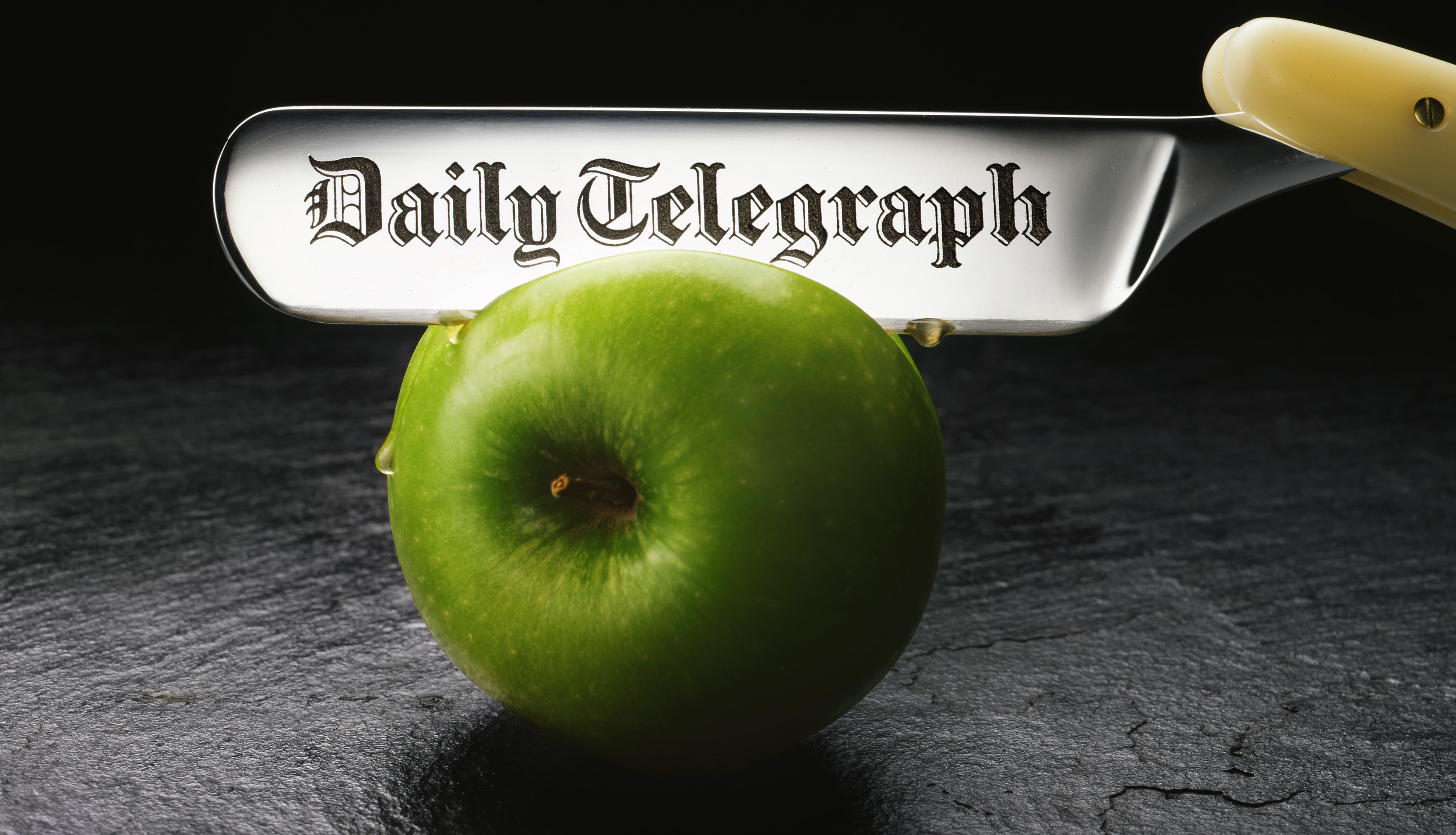 Daily Telegraph by Paul Bussell