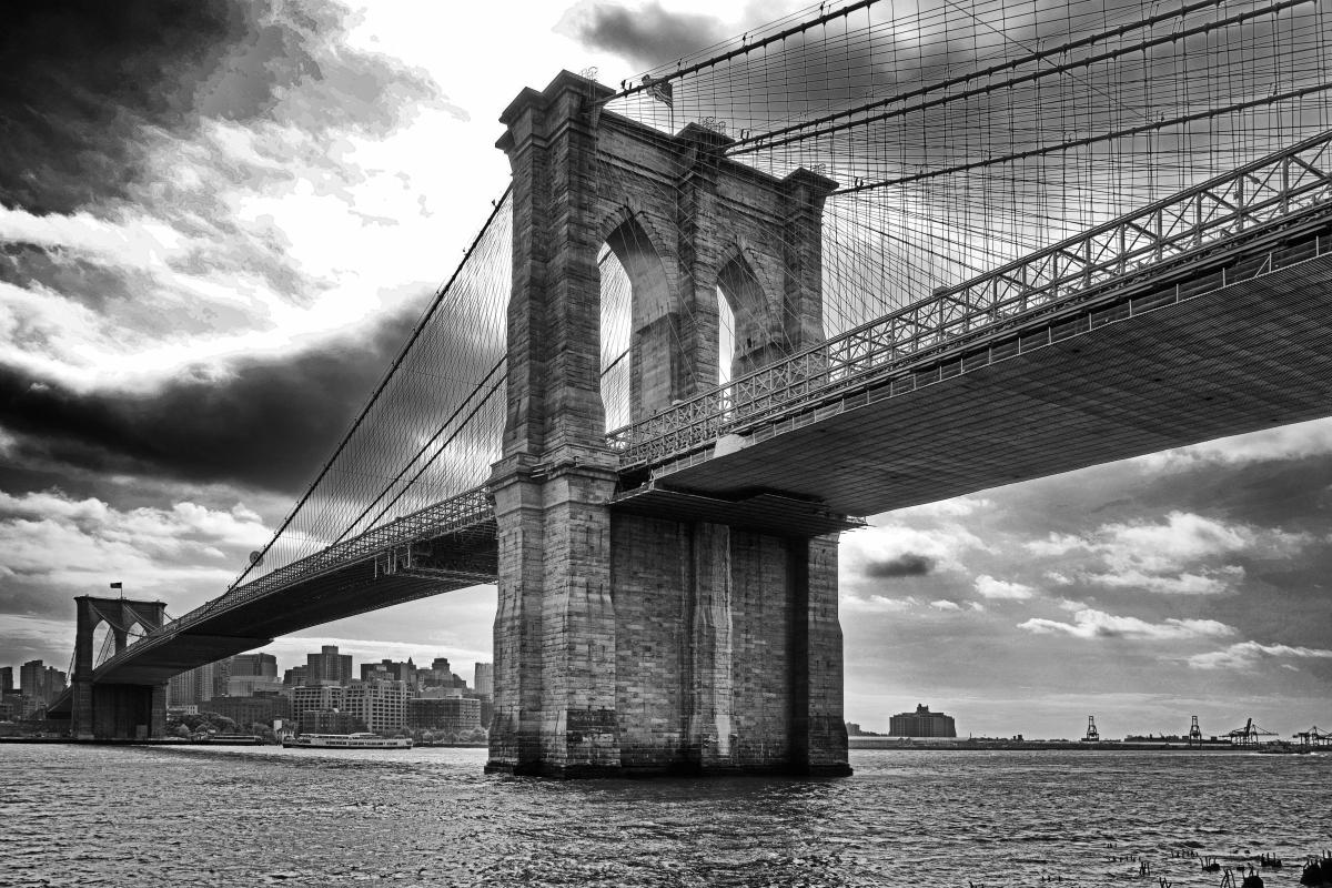 Brooklyn Bridge by Paul Bussell