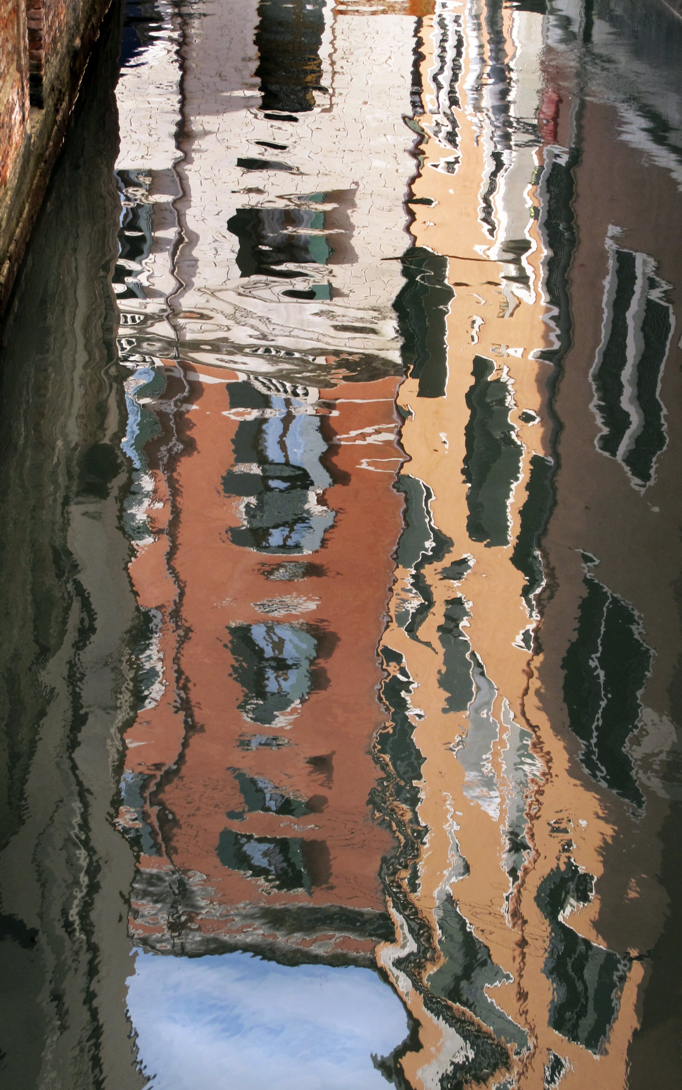 Reflections Venice canals by Paul Bussell